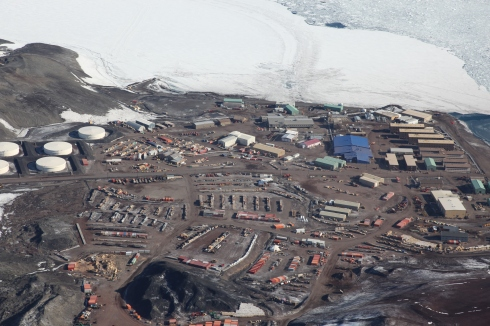 McMurdo Aerial