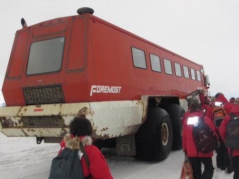 Mega Bus to Mactown