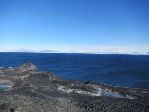 Open water in McMurdo Sound
