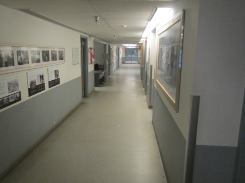 """Highway 1""-also the hallway to the galley"