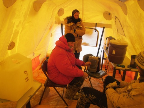 Inside the Arctic Oven