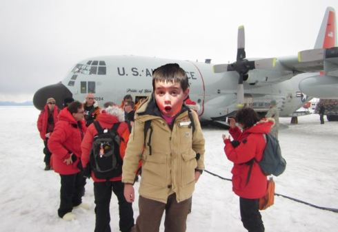 This is what my nephew Parker would look like in Antarctica