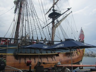 Captain Cooks Boat in Darling Harbor, Sydney Australia